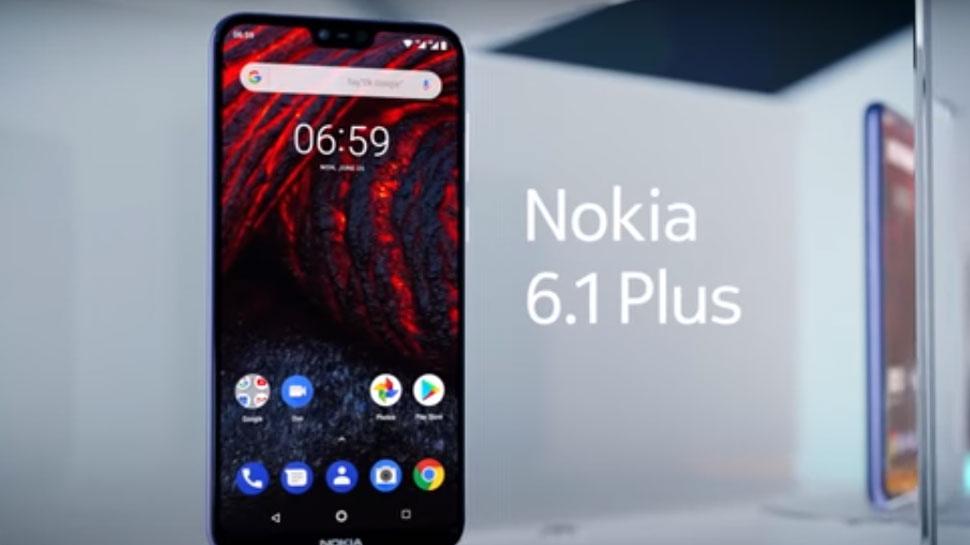 Nokia 6.1 Plus display