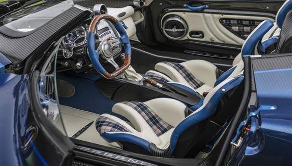 Ultra limited edition car Pagani Zonda HP Barchetta has only 3 units