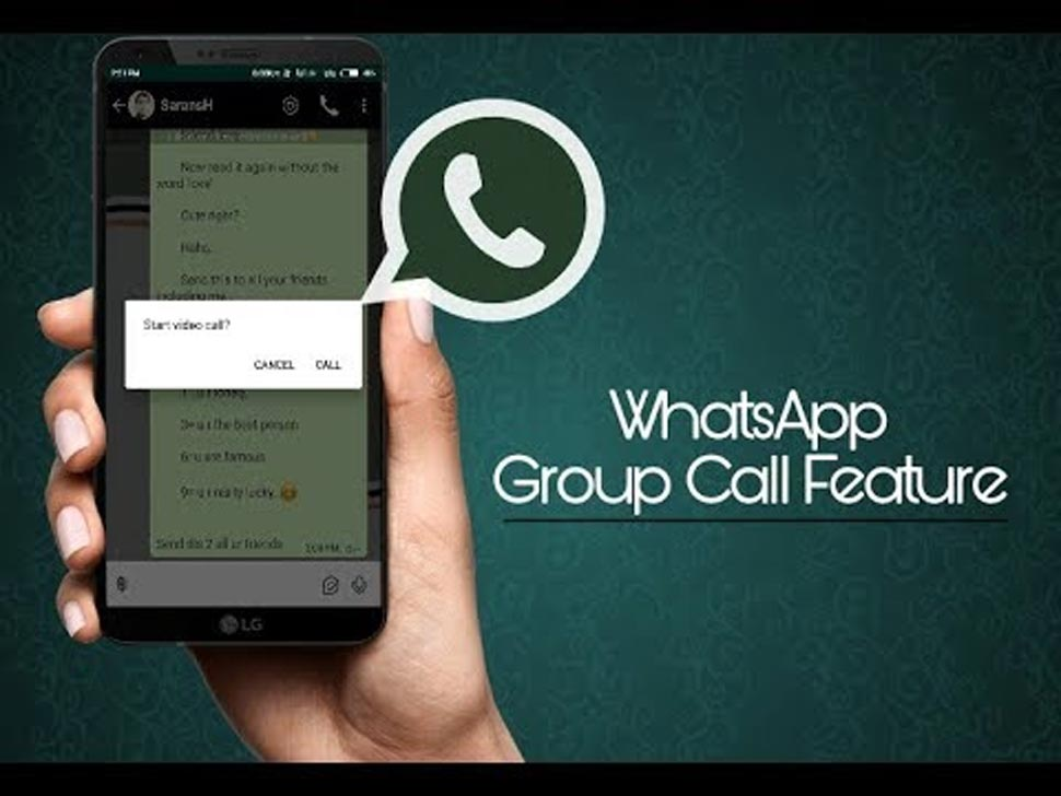 Whatsapp Group Video Calling: Need to update latest version of Group calling