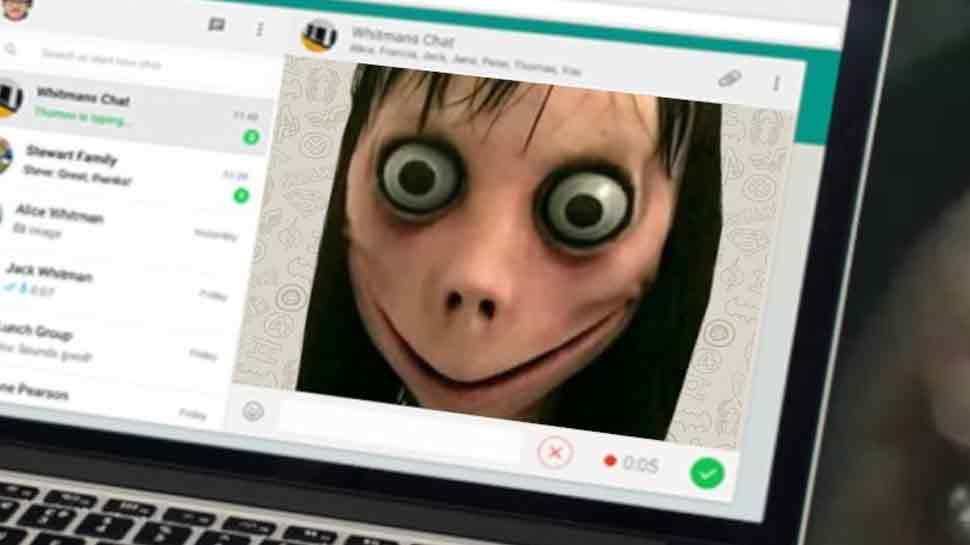 dangerous momo whatsapp Suicide game came