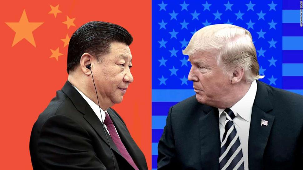 टकराव की वजह से अमेरिका के साथ चीन के व्यापार को लगा इतने का झटका