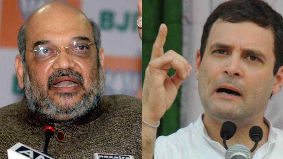 राहुल गांधी ने कहा- 'केंद्र सरकार पर दलित विरोधी', बीजेपी ने किया पलटवार
