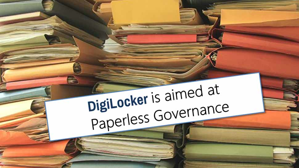 DigiLocker papers in digital form