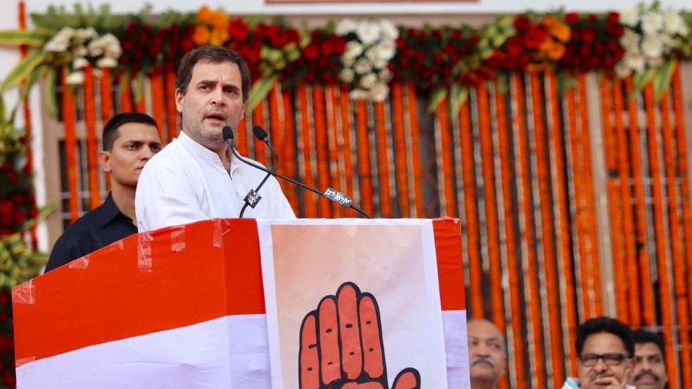 रायपुर: राहुल ने पीएम मोदी पर साधा निशाना, बोले- 'जादू से महंगा हुआ राफेल'