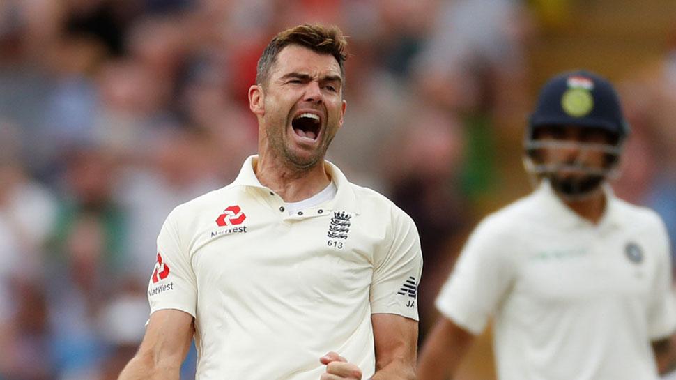 INDvsENG 2st Test: भारत की पारी केवल 107 रन पर सिमटी, एंडरसन के 5 विकेट