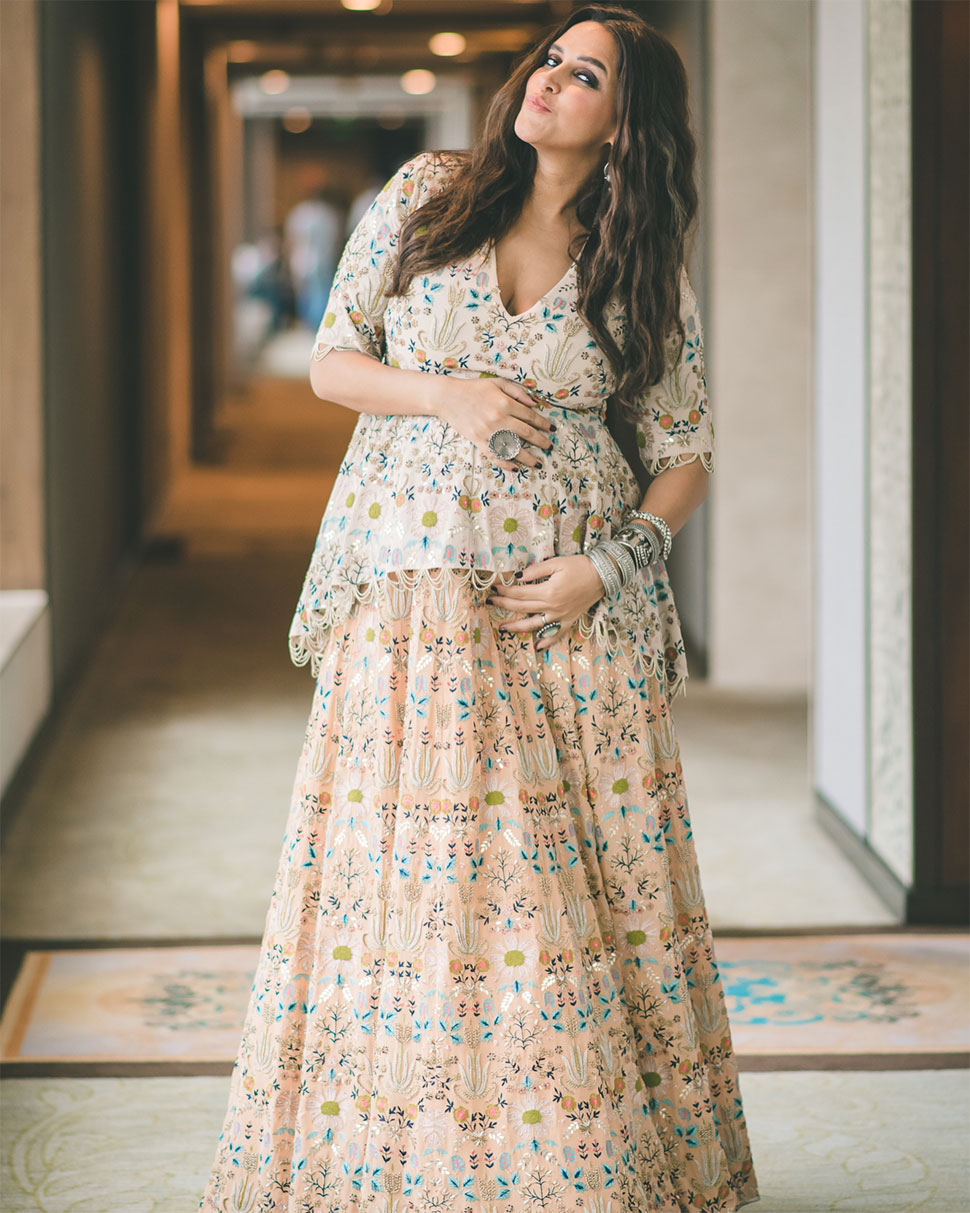 Neha Dhupia, Pregnancy, Lakme Fashion Week 2018