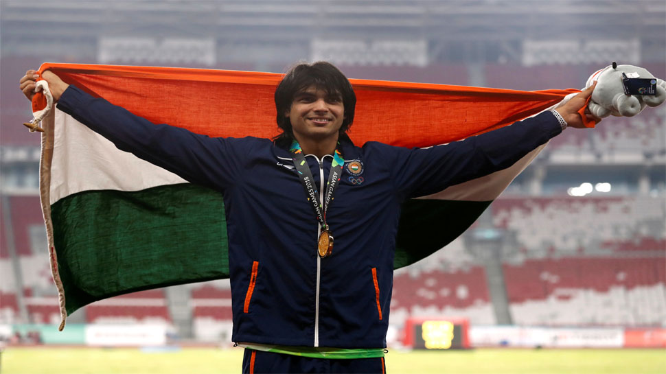 Neeraj Chopra, Asian Games 2018, Day 9,