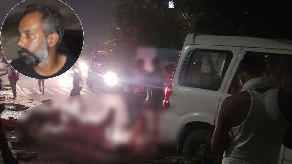राजस्थान: तेज रफ्तार कार ने फुटपाथ पर सो रहे 4 लोगों को कुचला, 2 की मौत