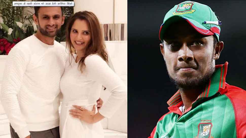 Shoaib Malik alleges Bangladeshi cricketer Sabbir Rahman tried to molest sania mirza