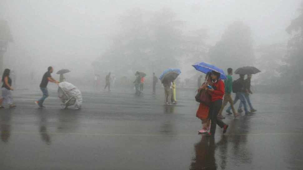 उत्तराखंड और ओडिशा में अगले 48 घंटों में भारी बारिश की संभावना