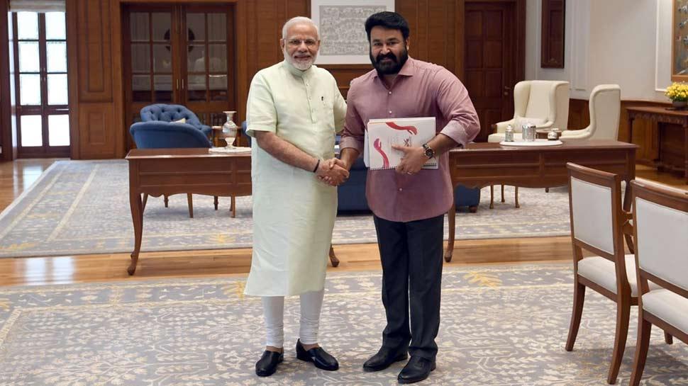 मलयालम सुपरस्टार मोहनलाल ने PM से की मुलाकात, क्या राजनीति में हो रही है एंट्री!