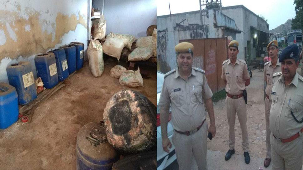 भरतपुर: नकली दूध बनाने वाले फैक्ट्री का भांडा फोड़, संचालक फरार