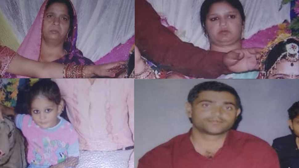 यूपी: इलाहाबाद में एक ही परिवार के चार लोगों की हत्या, इलाके में दहशत
