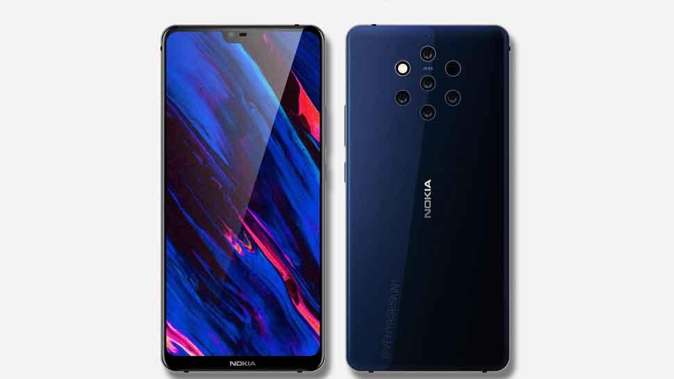 Nokia 9 की फोटो लीक, होंगे 5 रियर कैमरे और डिस्प्ले नॉच, जानें अन्य खूबियां