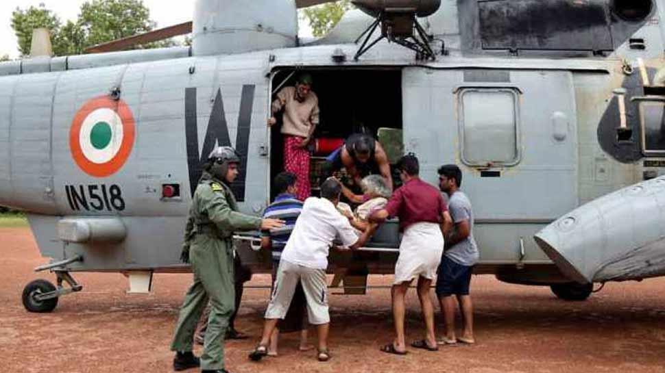 MP: शिवपुरी में बाढ़ में फंसे 46 लोगों को सेना ने निकाला