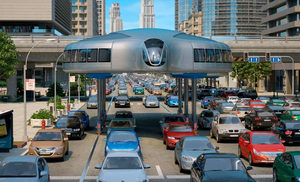 VIDEO : अनोखी टेक्नोलॉजी, चाहे कितना भी हो ट्रैफिक जाम फर्राटे से सड़क पर दौड़ेगी यह बस!