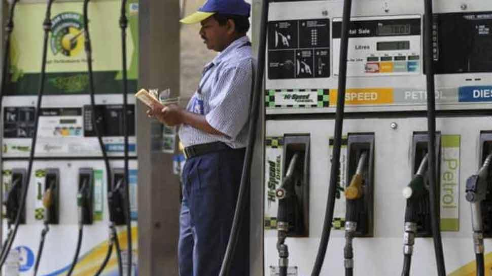 Remember the petrol pump meter should be reset first