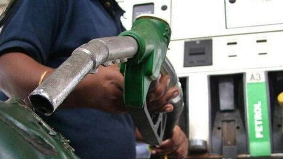 Get down from the car while filling petrol
