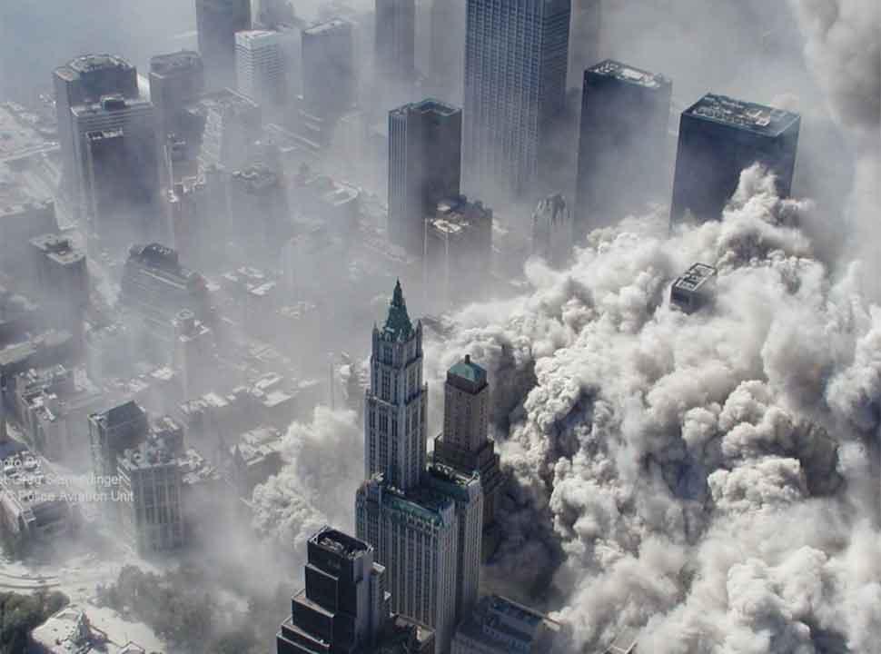 Terror attack on American world trade center-5