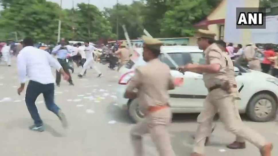गोरखपुर विश्वविद्यालय में छात्रों के दो गुटों में मारपीट, पुलिस ने भांजी लाठियां