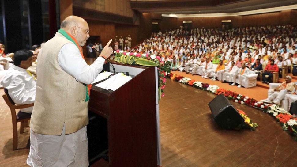 राजस्थान में बीजेपी अंगद का पांव है, कोई गठबंधन नहीं हिला सकता : अमित शाह