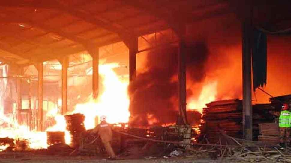 बिजनौर : पेट्रो केमिकल फैक्ट्री में फटा मिथेन गैस का टैंक, मौके पर 6 लोगों की मौत