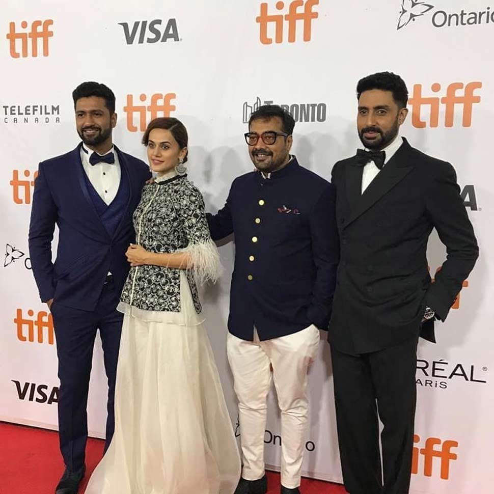 Team Manmarziyaan at toronto international film festival