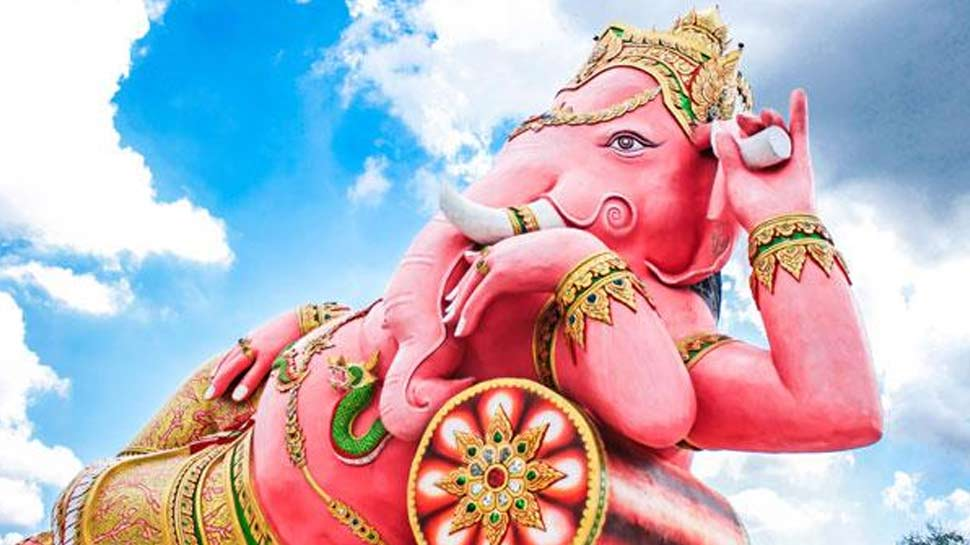 popular myth or superstition goes along with Ganesh Chaturthi