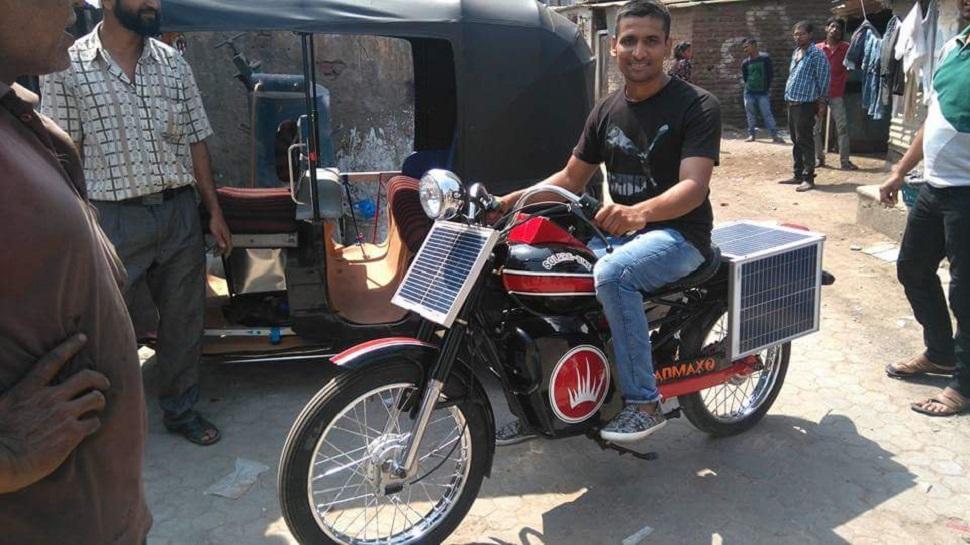 आनंद महिंद्रा ने ट्वीट किया पेट्रोल-डीजल के बिना मुफ्त में चलने वाली बाइक का वीडियो