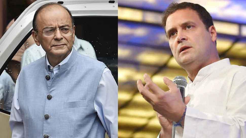 माल्या के दावे पर कांग्रेस ने मोदी सरकार को घेरा, राहुल ने मांगा जेटली का इस्तीफा