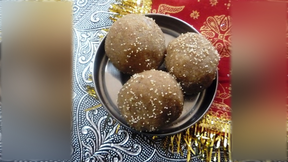 sonth and methi laddu