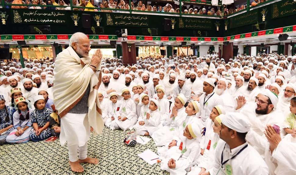 Narendra Modi reaches out to Dawoodi Bohra