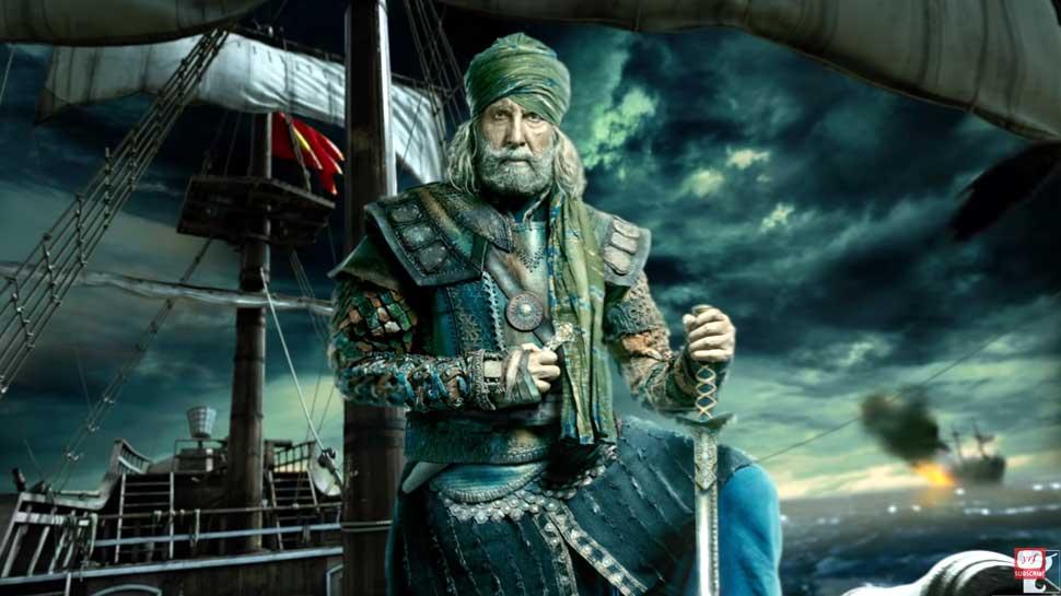 अमिताभ बच्'€à¤šà¤¨ बने Thugs of Hindostan के 'खुदाबक्'€à¤¶', पहला लुक आया सामने