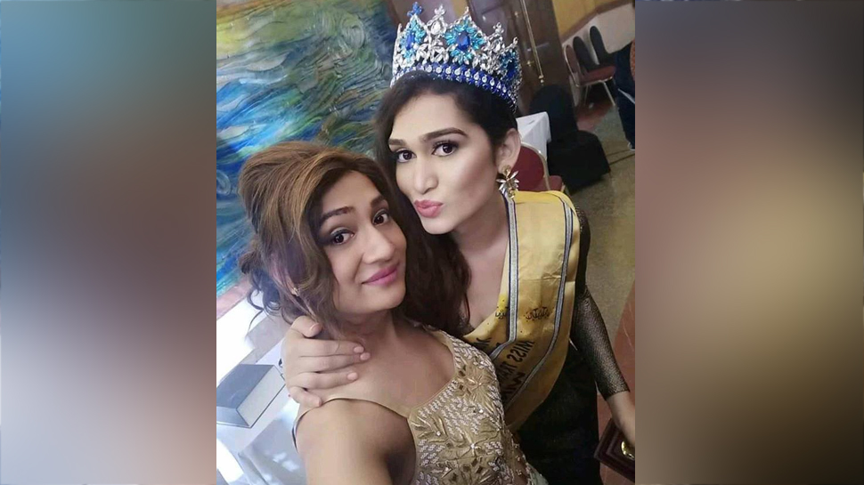 Chhattisgarh Veena became the country's first Trans Beauty Queen