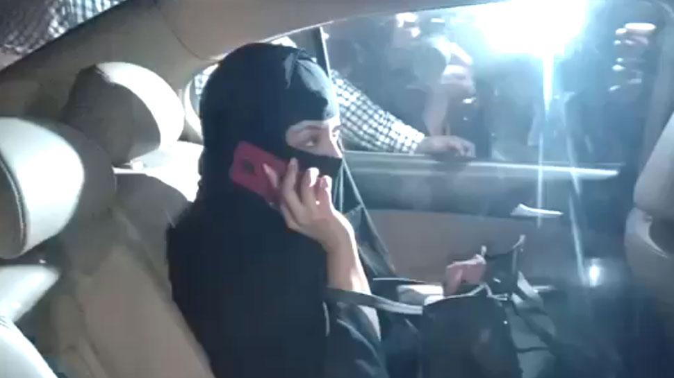 तनुश्री बुर्का पहनकर पहुंचीं थाने, नाना पाटेकर समेत 4 लोगों के खिलाफ FIR दर्ज