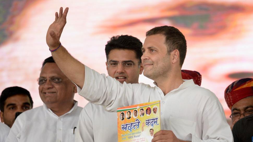 VIDEO: बीकानेरी मिठाई को देख खुद को नहीं रोक पाए राहुल गांधी, फिर...