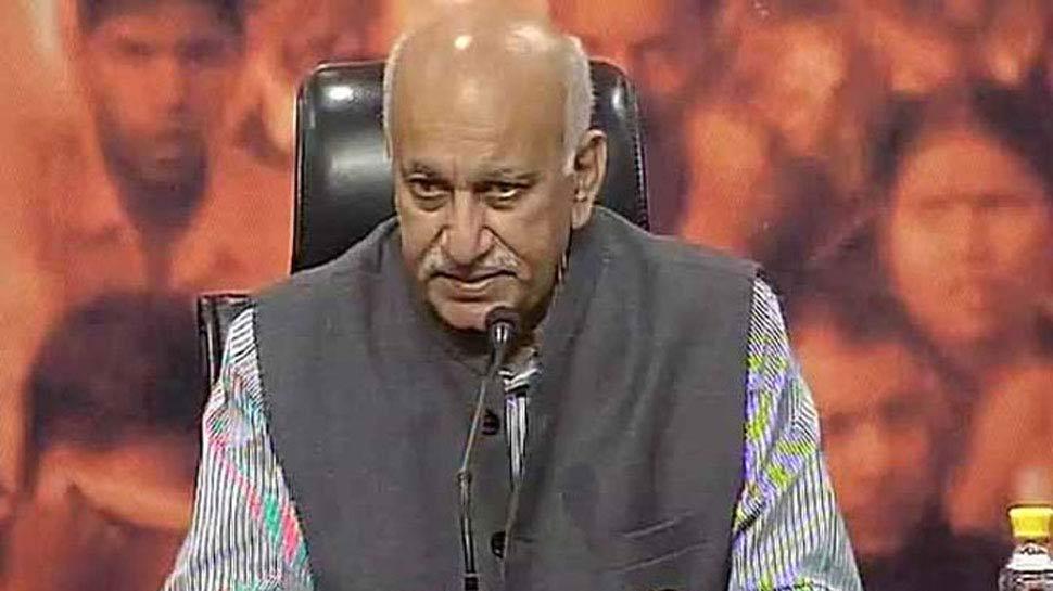 #MeToo: 'मंत्री और पूर्व संपादक एमजे अकबर ने मेरा यौन उत्पीड़न किया'