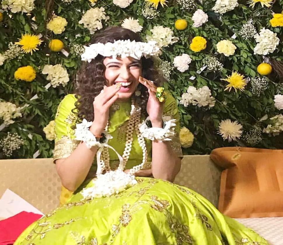 Prince-Yuvika mehendi and engagement ceremony