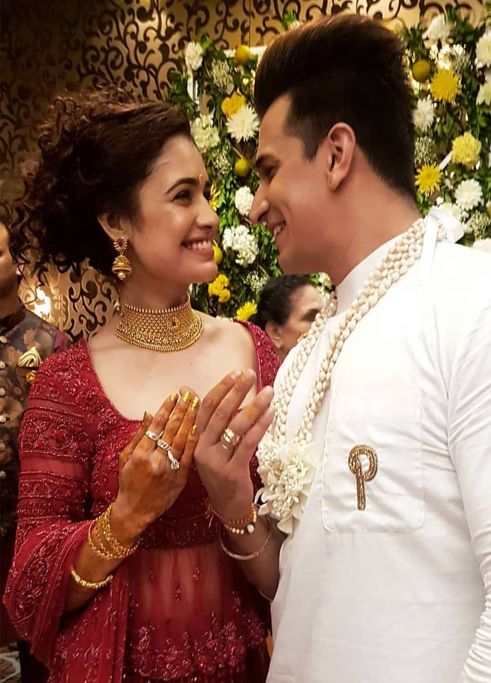 Engagement Ceremony of Princeand Yuvika