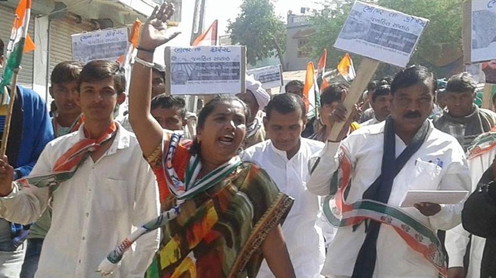 गुजरात: महिला कांग्रेस विधायक गेनीबेन ठाकोर ने कहा : रेप के आरोपियों को जिंदा जला देना चाहिए