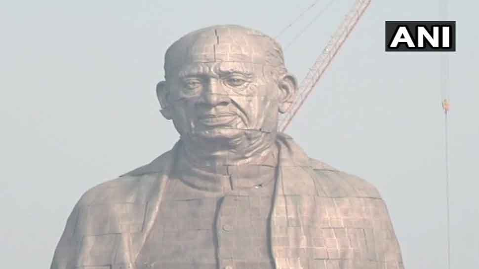 Sardar Vallabhbhai Patel's 'Statue of Unity' at Narmada bank being given final touches-4