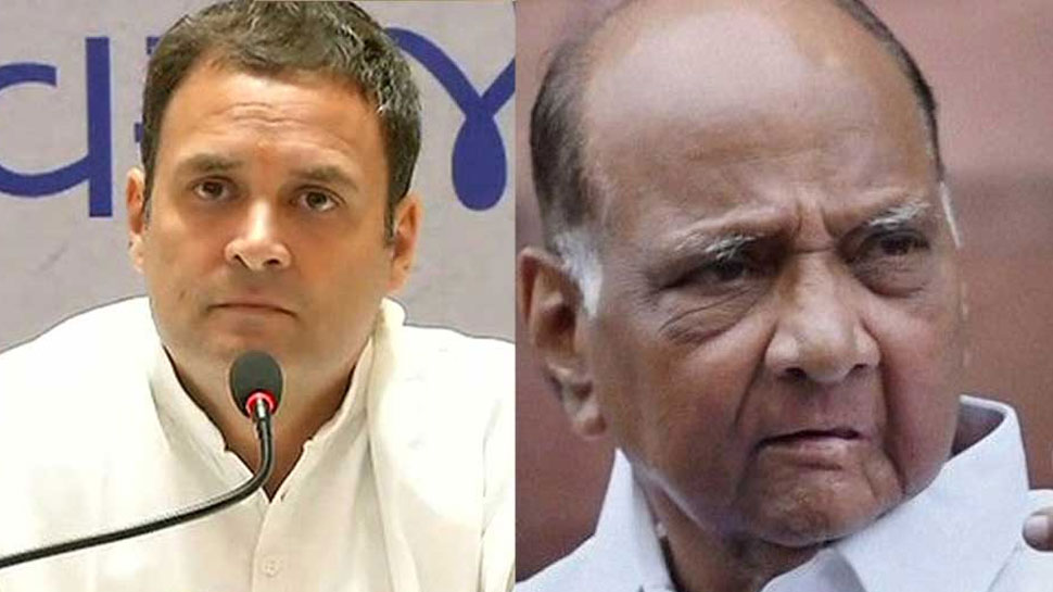 लोकसभा चुनाव: राहुल-पवार ने सीटों के बंटवारे पर की चर्चा लेकिन MP में एकदूसरे के खिलाफ लड़ेंगे