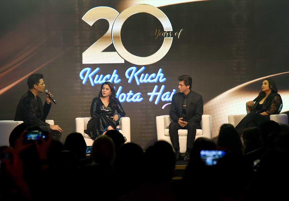 Shah Rukh Khan, kajol and Rani celebrates Kuch Kuch Hota Hai 20 years together