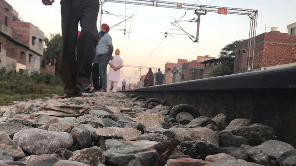 Photos of Amritsar Train Accident
