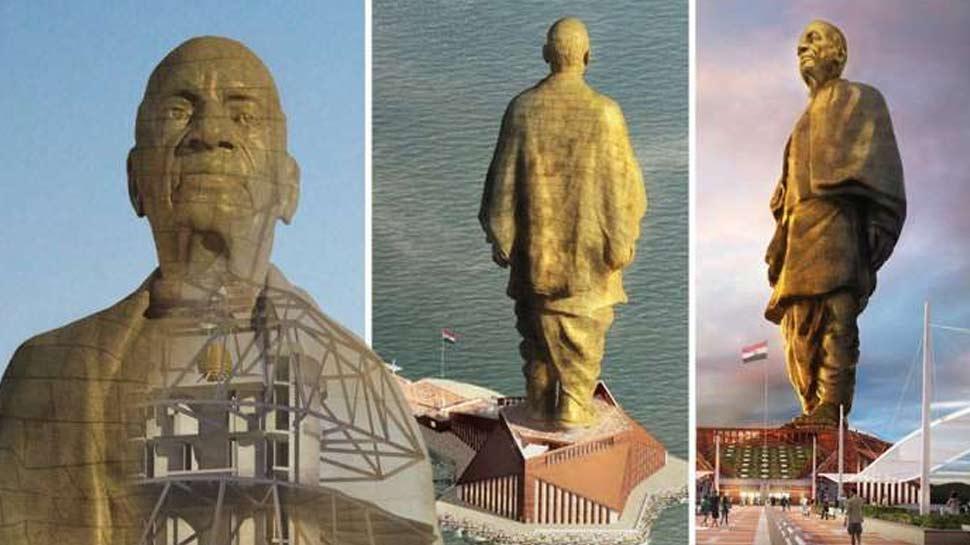 गुजरात: 'स्टैच्यू ऑफ लिबर्टी' से भी भव्य है 'स्टैच्यू ऑफ यूनिटी', रोज आएंगे 15000 पर्यटक