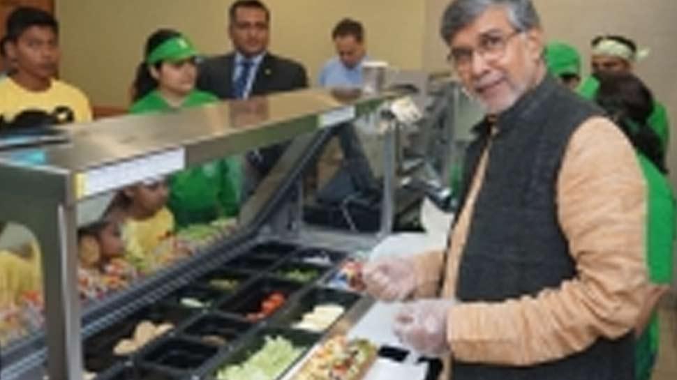 नोबेल पुरस्कार विजेता सत्यार्थी बोले, 'पौष्टिक भोजन से बढ़ता है बच्चों का स्वाभिमान'
