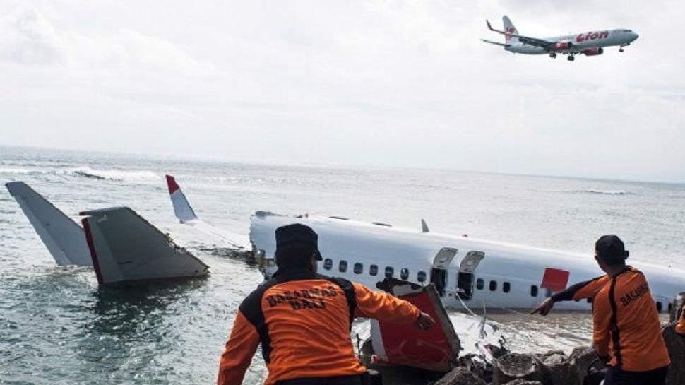 Image result for आज बाद जावा सागर में क्रैश हुआ विमान