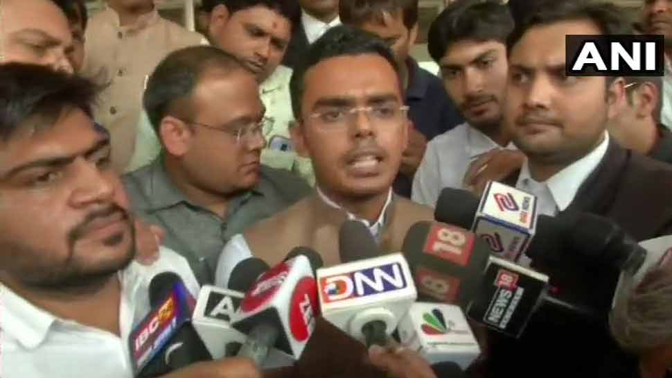राहुल गांधी के खिलाफ आपराधिक मानहानि मामले में शिवराज के बेटे ने दर्ज कराए बयान