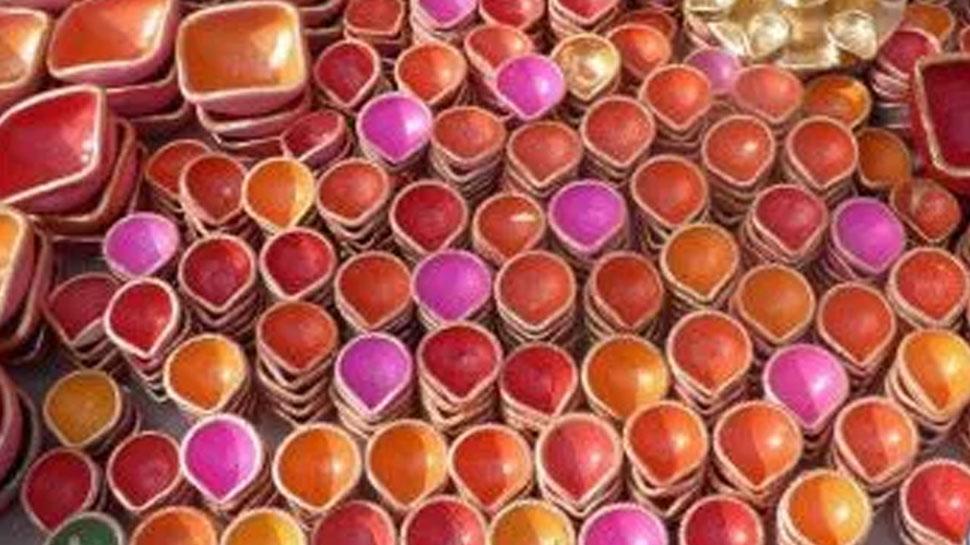 राजस्थान: महंगाई की चपेट में मिट्टी के दीयों का व्यवसाय, इस दिवाली कम हुई मांग