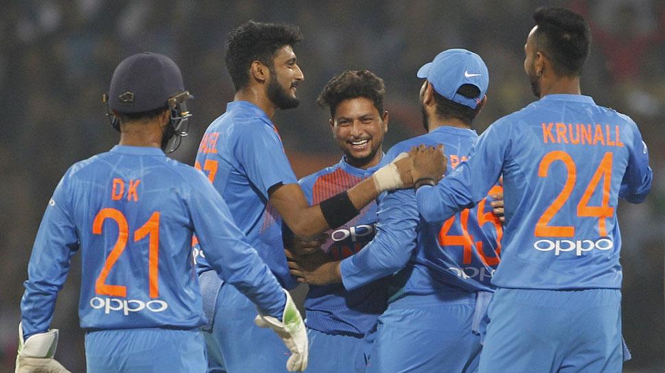 Image result for IND vs WI: टी20 सीरीज पर भी टीम इंडिया का कब्जा, रोहित का नाबाद 111 रन